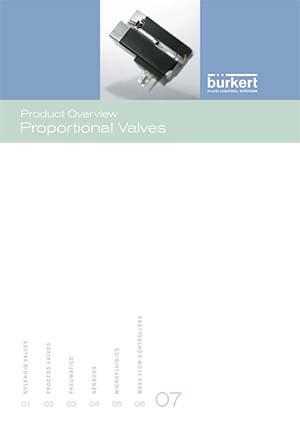 Burkert Visão Geral do Produto: Válvulas Proporcionais