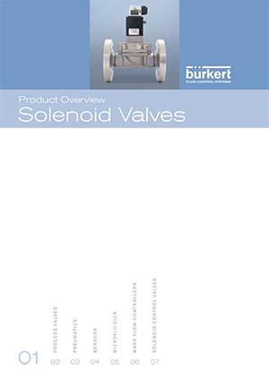 Produktübersicht: Magnetventile - Burkert