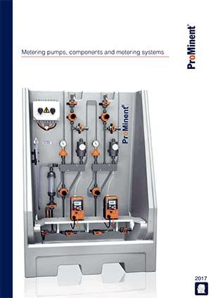Metering pumps components sistemas de medición
