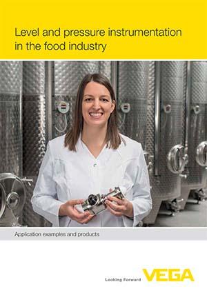 Niveau- und Druckmesstechnik in der Lebensmittelindustrie