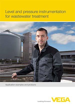 Приборы для измерения уровня и давления для очистки сточных вод