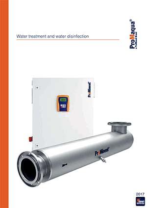 Desinfección del agua del tratamiento del agua