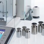 Periodic calibration of weighing equipment