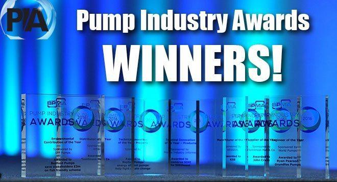 Incontra i 2017 Pump Industry Awards vincitori!