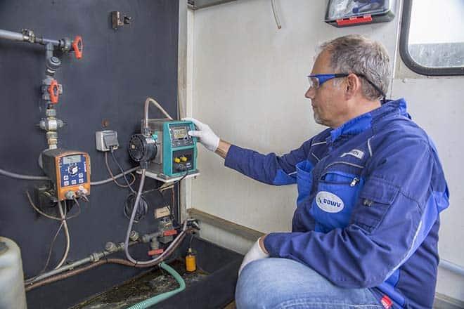 Major Water Treatment Plant Replaces 3 Diaphragm Pumps With Qdos Pump