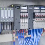 PLC controlled pneumatic valve stations