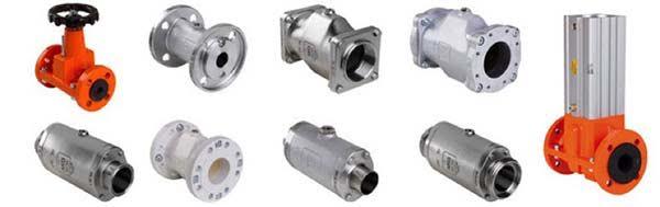 Válvulas de fluxo de ar operadas a ar