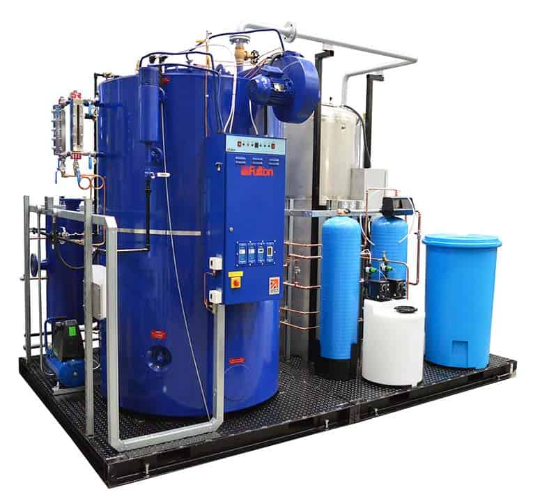 Steam Boiler System Increase Output For Organic Health & Beauty ...