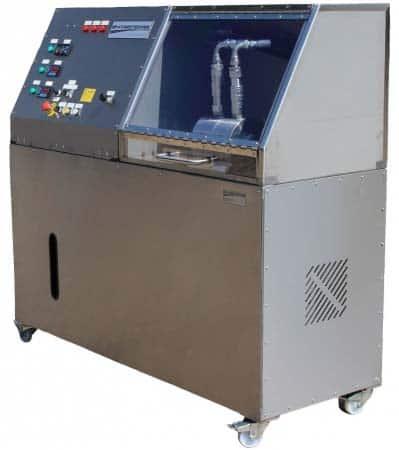 Plataforma de prueba de flujo Hydrotechnik