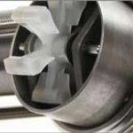 medidor de vazão de turbina de inserção