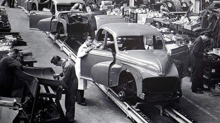 Produtividade de fabricação