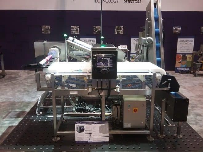 Neue Abfallreduzierende, dreifach-spurige, Multi-Aperture-Metalldetektor nimmt die Mittelstufe ein