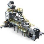 Système automatisé de manutention de matériaux en vrac