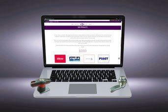 FDB Panel Fittings neue Website - erweiterte Stil und Funktionalität