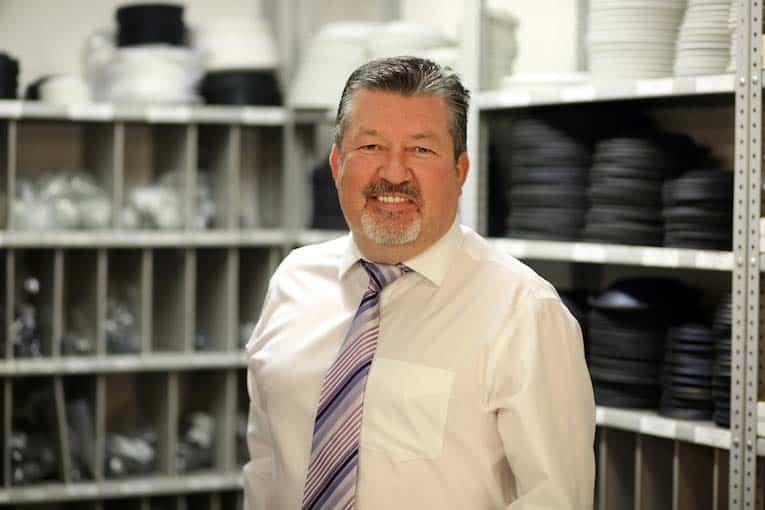 Colin Simpson, direttore dello sviluppo commerciale di Tomlinson Hall