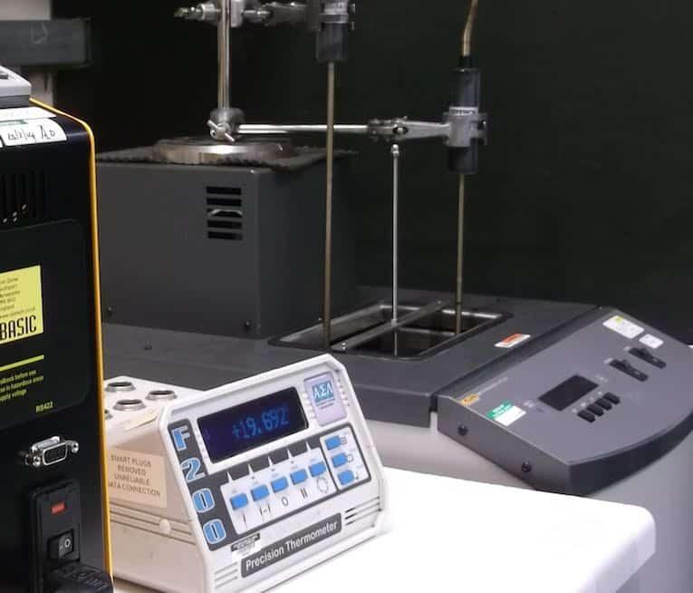 Impianto di calibrazione della temperatura UKAS