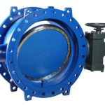 Aporis double offset butterfly valve