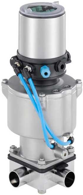 Hygienic control valve