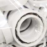 Hygienic plastic bearings