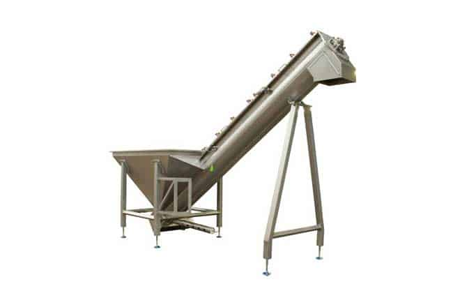 Screw Conveyors For Meat Processing