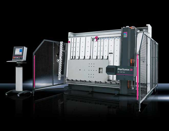 Perforex beregner CNC Machining Center ROI