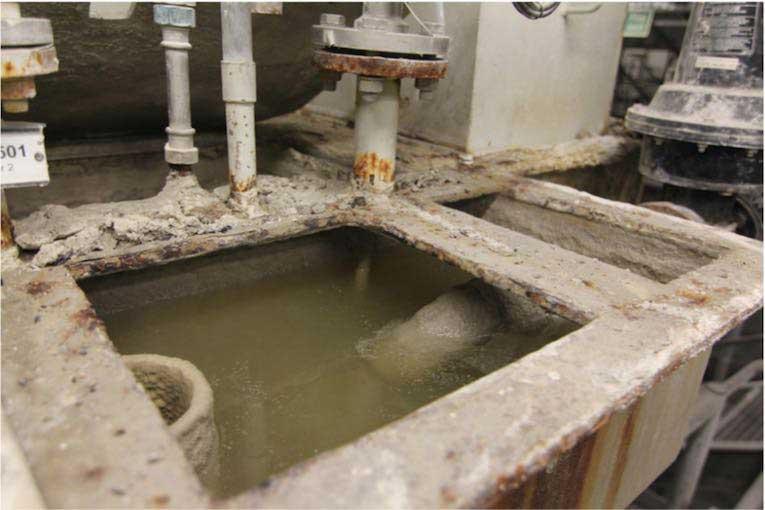 tanque de equilíbrio de água
