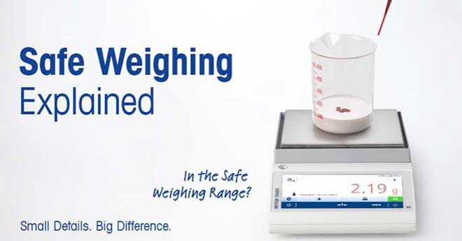 Safe process weighing