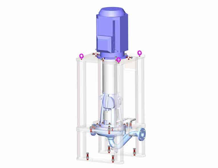 超级双相API610 OH3泵