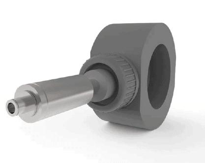 Débitmètre de sodium-hypochlorite Pelton Wheel