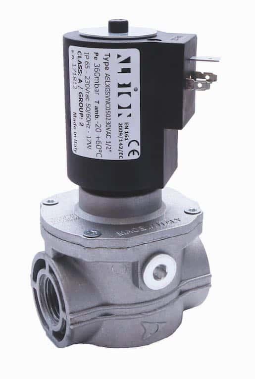 Gas-Magnetventil