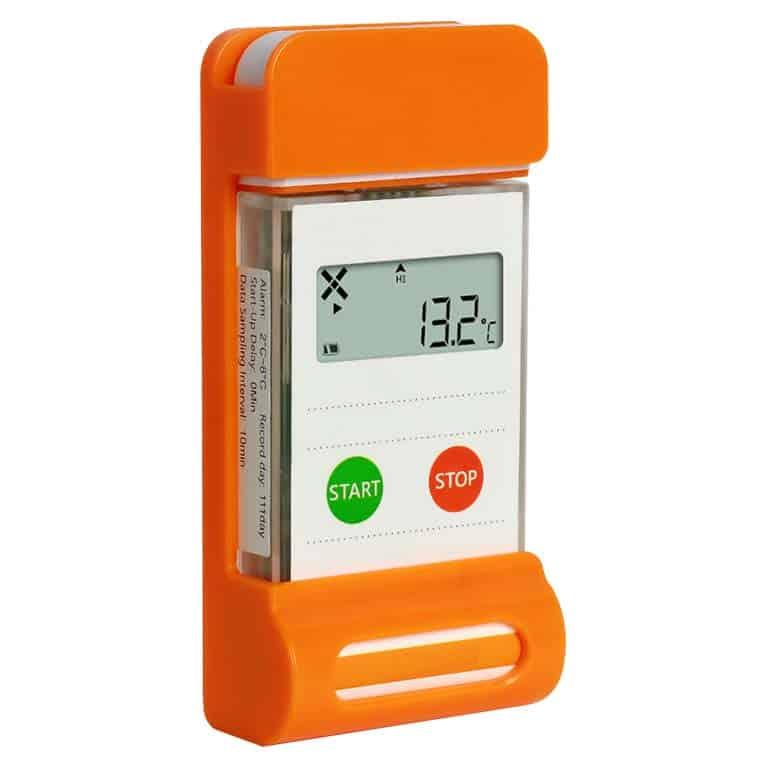 Registro de dados de temperatura do alimento LogEt-8 da Signatrol