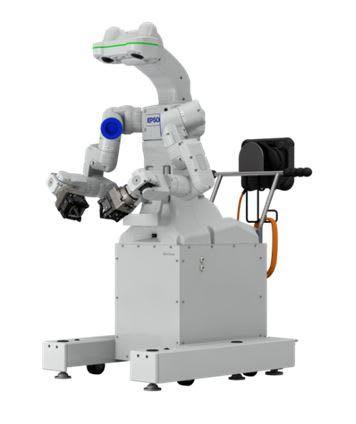 robô de braço duplo