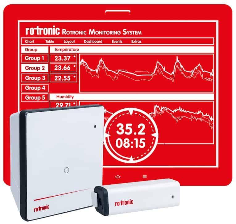 Rotronic-Überwachungssystem