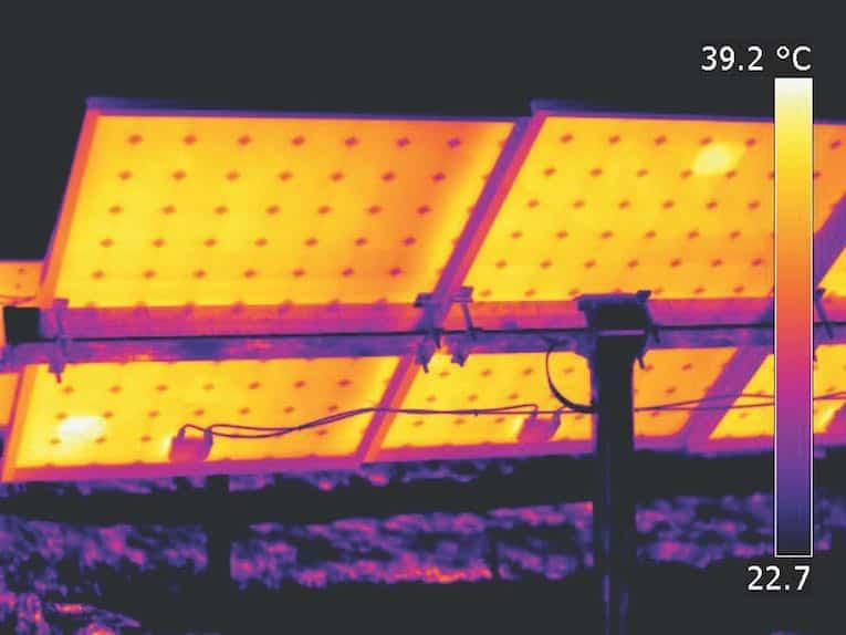 évaluation du panneau solaire