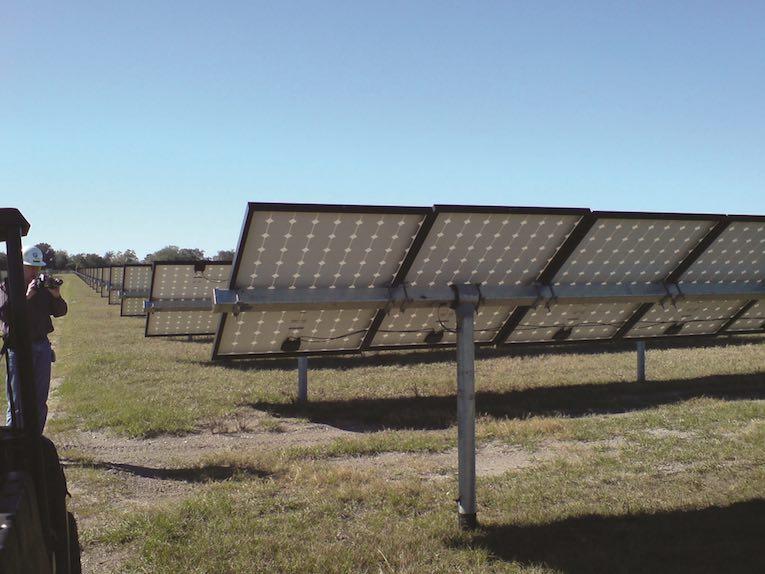 évaluation de panneau solaire de caméra thermique