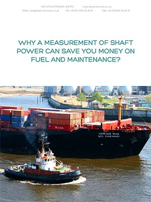 Why A Measurement Of Shaft Power Can Save You Money On Fuel & Maintenance