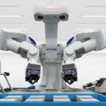 Epson robot de doble brazo