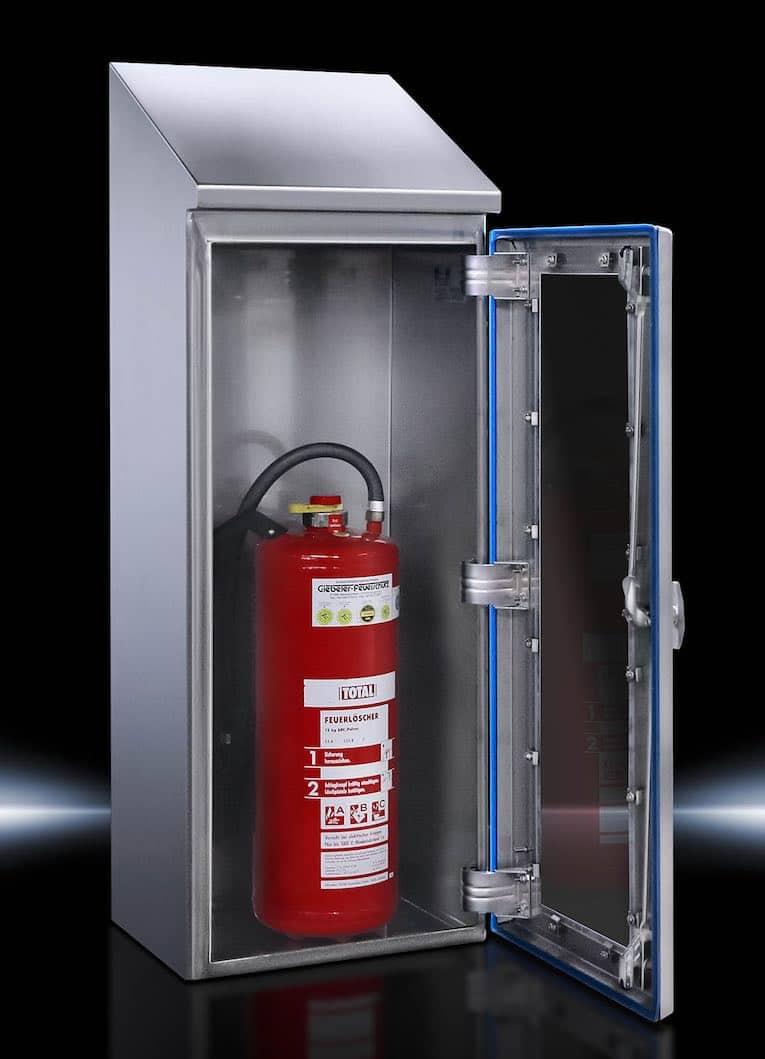 caixa de extintor de fogo rittal-hd