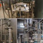 equipamento automatizado de separação de processamento de alimentos