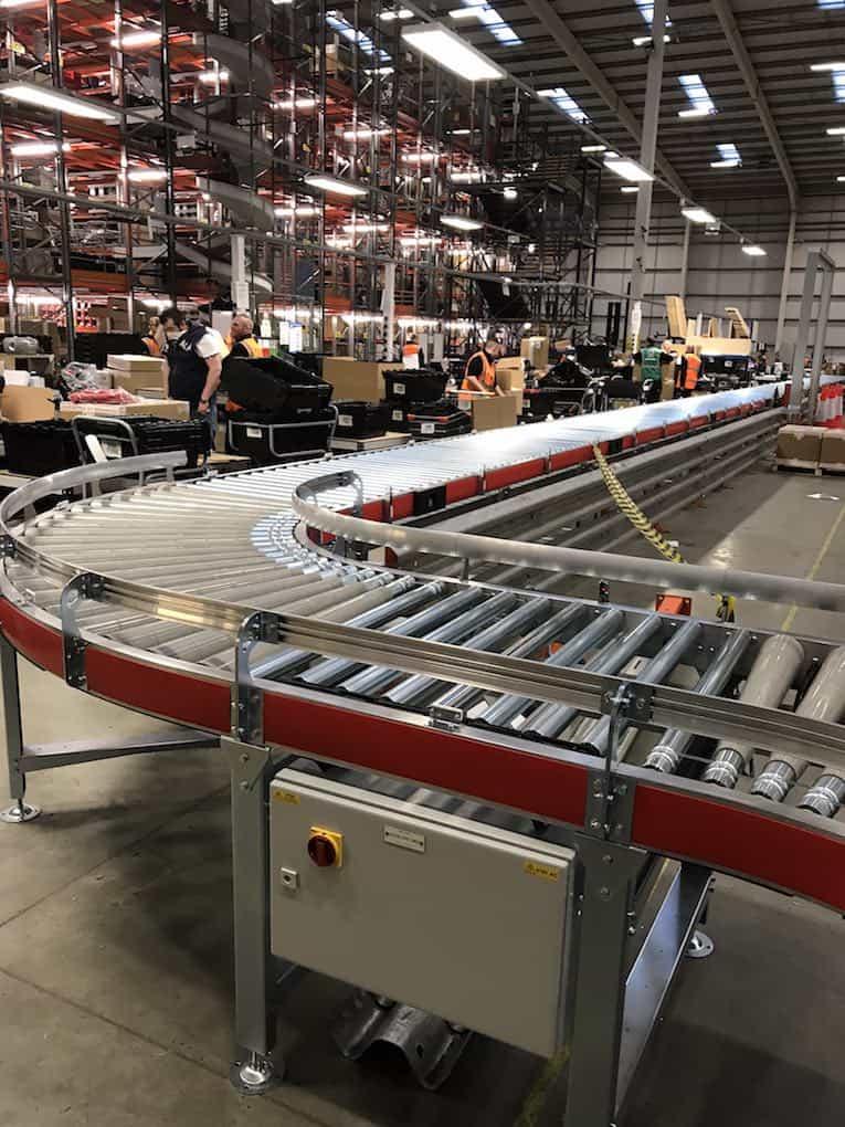 smartline roller conveyor