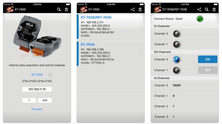 ET-7000 Screenshots