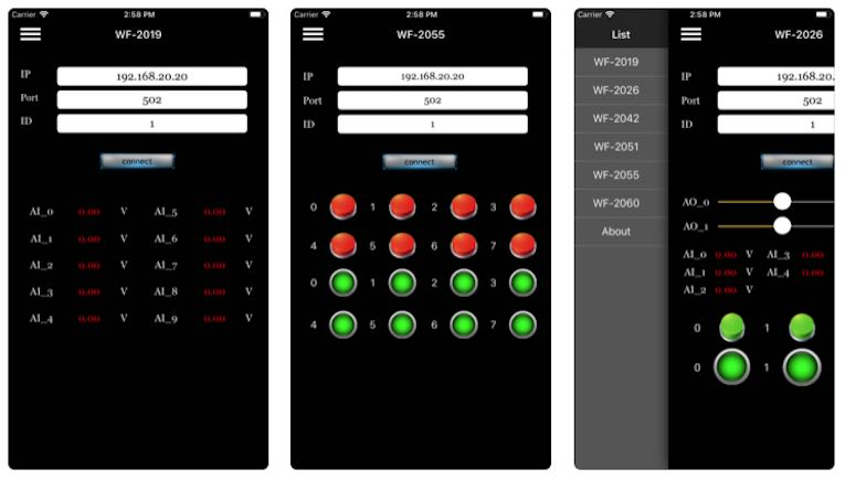 WF2000-Utility Screenshots