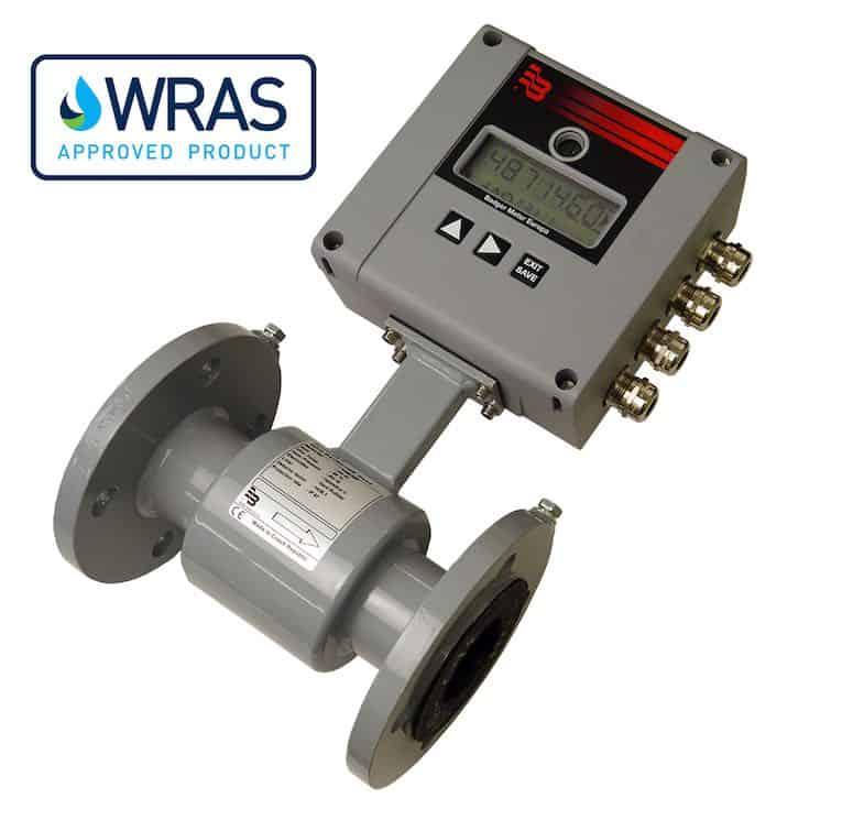 medidor magnético de batería media
