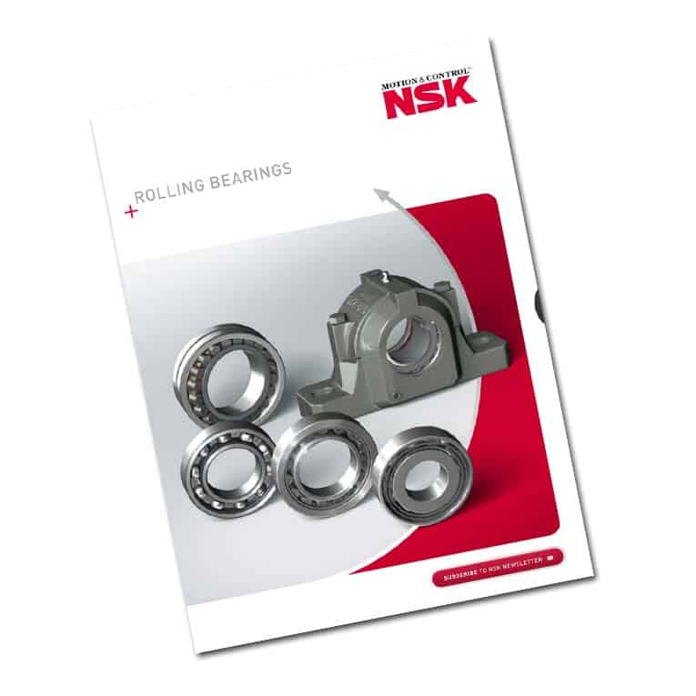 nsk roller bearings brochure