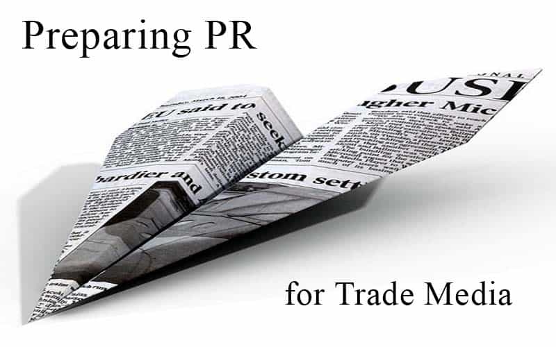 PR für Fachmedien vorbereiten