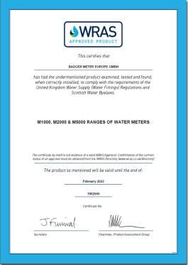 сертификат wras