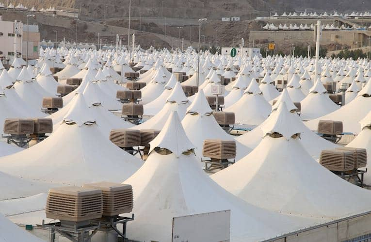 Haji-Projekt Saudi-Arabien