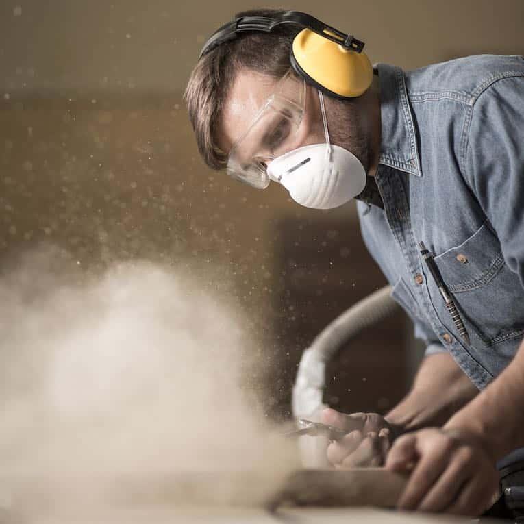 ограниченная пыль рабочей зоны