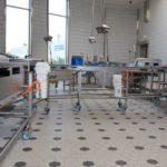 planta de processamento de peixe