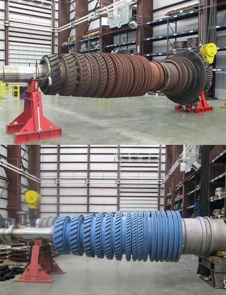 melhorar a confiabilidade da turbina a gás